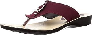 PARAGON SOLEA Women's Maroon Flip-Flops