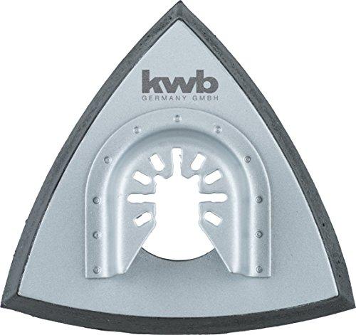 kwb Schleifplatte für Delta-Schleifer, inkl. Multitool Aufsatz