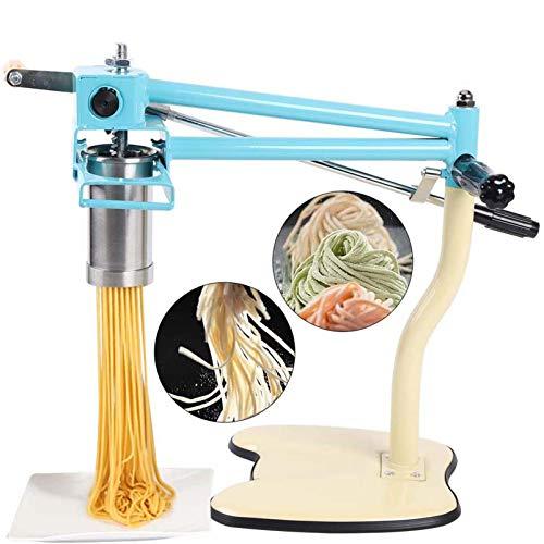 Kommerzieller Nudelhersteller Handpresse Nudelmaschine 4 Modell Edelstahl Nudelrolle Spaghetti Fettuccini Tagliatelle Herstellung Küchenwerkzeug