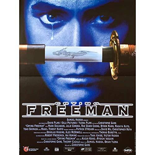 CRYING FREEMAN Affiche de film - 40x60 cm. - 1995 - Marc Dacascos, Christophe Gans