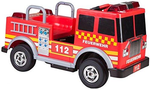 Besttoy Elektroauto für Kinder - Feuerwehrauto - 12 V