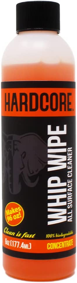 Hardcore Whip mart Wipe All Surface Ultra Bike Concentrated Cleaner Max 56% OFF
