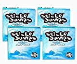 Sticky Bumps Surfboard Wax Original Cool / Cold Water Formula (4-Pack)