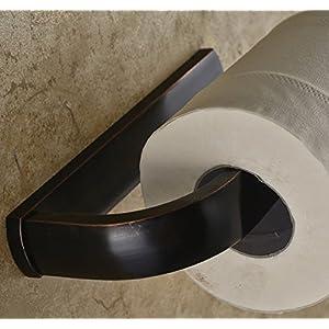 Ello&Allo Oil Rubbed Bronze Toilet Paper Holder Bathroom Accessories Wall-Mounted, Rust Protection