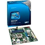 Intel Desktop Board DQ57TM Executive Series - Motherboard - micro ATX - LGA1156 Socket - Q57 - Gigabit Ethernet - onboard graphics (CPU required) - HD Audio (6-channel)
