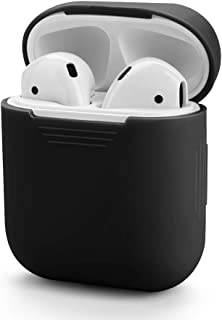 SOUNDI Airpods Silicone Carrying Case Protective Cover Skin Sleeve Pouch Box for Apple Airpods Air Ear Pods Buds Standard ...