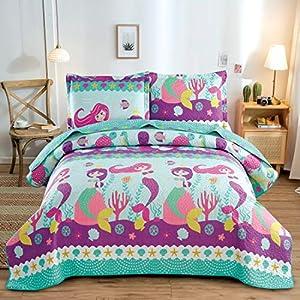 5180MKV+uFL._SS300_ Mermaid Bedding Sets & Comforter Sets