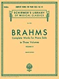 Complete Works for Piano Solo - Volume 3: Schirmer Library of Classics Volume 1730 Piano Solo (Schirmer's Library of Musical Classics)