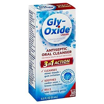Gly-Oxide Liquid Oral Cleanser 0.5 Fl Oz (1-Unit)
