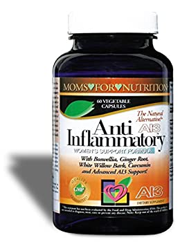All-Natural Anti-Inflammatory Essential Synergy Women s Support Formula by Moms for Nutrition with a Proprietary Blend of 12 Herbs Enzymes and Botanicals for Inflammation-Induced Pain,Day / Night Use