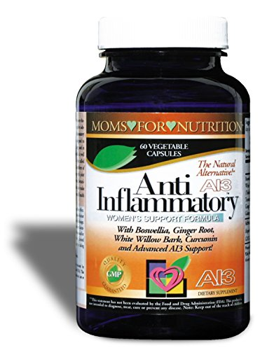 All-Natural Anti-Inflammatory Essential Synergy Women's Support Formula by Moms for Nutrition with a Proprietary Blend of 12 Herbs, Enzymes and Botanicals for Inflammation-Induced Pain,Day / Night Use