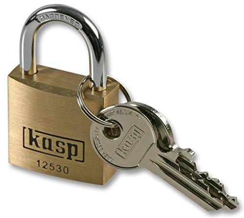 K12530-Vorhängeschloss 30mm, Premium, Messing, Bügel aus gehärtetem Stahl, maximale Korrosionsbeständigkeit