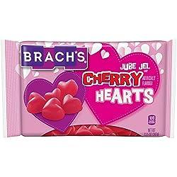 Brach's Jube Jel Cherry Hearts Valentine Candy, 12 Ounce