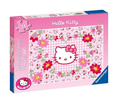 Ravensburger - 05262 - Puzzle Enfant - Hello Kitty et Les Fleurs - 24 Pièces