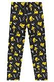 Pokémon Pyjama Pikachu Enfant - Bas De Pyjama Garçon Ou Fille en Coton - Idée de Cadeau Geek pour Enfant Ou Ado 4-14 Ans (7-8 Ans)