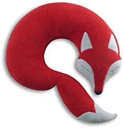 christmas gift guide with fox neck pillow