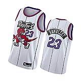 VanVleet - Camisetas de baloncesto para hombre, diseño de Toronto Raptors 23#, estilo retro, camiseta deportiva+pantalones cortos, chaleco sin mangas bordado clásico