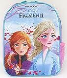 TDL Disney Frozen Zaino per Bambini - Licenza Ufficiale - 30 cm - Cinghie Regolabili - Rete Laterale -Backpack