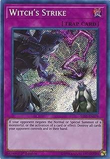 Yu-Gi-Oh! - Witch's Strike - SAST-EN079 - Savage Strike - First Edition - Secret Rare