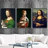DFRES Leonardo Da Vinci Mona Lisa BerüHmte GemäLde Dame