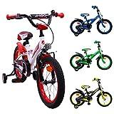 AMIGO BMX Turbo - Kinderfahrrad - 16 Zoll - Jungen