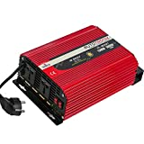 PARCO 1500W Car Power Inverter DC 12V to 220V AC Car Converter, Battery Charger, 2 Universal AC...