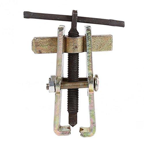 wosume Extractor de Engranajes de Dos mordazas, Extractor de Engranajes, tecnología de Forjado en Espiral Extractor de cojinetes Dos mordazas para fabricación Industrial(75mm)