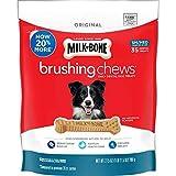 Milk-Bone Brushing Chews Daily Dental Dog Treats, Small/Medium, 35 Count
