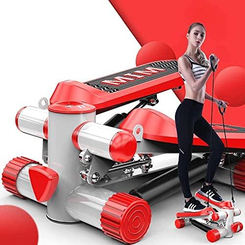 Entrenadores elípticos Inicio Pérdida de Peso Máquina silenciosa de pérdida de Peso Equipo de Ejercicio Rojo Peso 120Kg Amortiguador hidráulico In Situ Máquina de Pedal