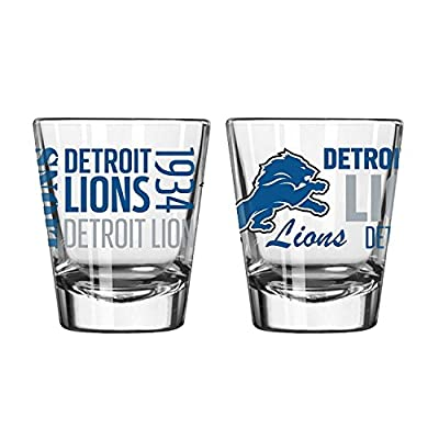 Boelter 2-Ounce Spirit Shot Glass - NFL Detroit Lions