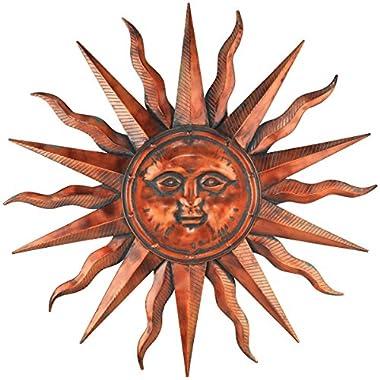 Regal Art & Gift Copper Patina Sun 40