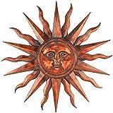 Regal Art &Gift Copper Patina Sun 40'