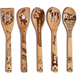 10 Best Sci Bamboo Wood Cooking Spoons