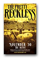 """The Pretty Recklessポスター–2017」を販売する"""" Who Tour 11x 17"""