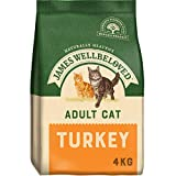 <span class='highlight'>James</span> Wellbeloved Complete Dry Adult Cat Food Turkey and Rice, 4 kg