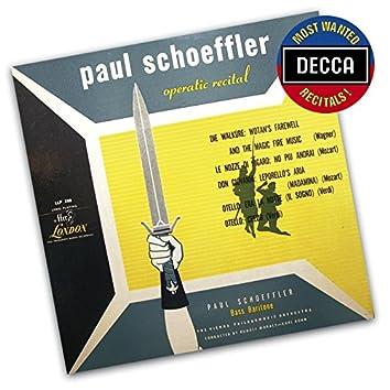 Paul Schoeffler Operatic Recital