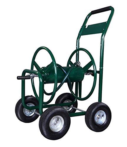 Garden Water Hose Reel Cart 300 FT Outdoor Heavy Duty Yard Water Planting