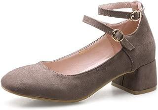BalaMasa Womens APL12282 Pu Heeled Sandals