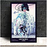 MGSHN Ghost In The Shell Fight Police Anime Poster Wall Art