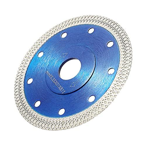 125 mm Hoja de sierra circular de madera, dientes de sierra de máquina de corte, utilizada para azulejos de cerámica, madera, corte de mármol, accesorios de corte duro y rápido