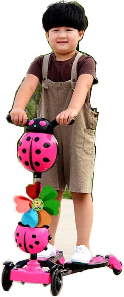 Haojiechunxiang Scooter Scissor Car Child Frog Scooter Niño de Dos piernas Scooter de Tres Ruedas Scooter de 4 Ruedas Baby Swing Car