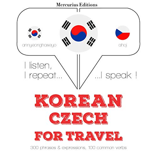 Korean – Czech. For travel cover art