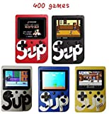 Built-in 400 Classical Games: It's a good gift for your children, friends, both boys and girls will like it. Adapted AV Cable: Applicable to TV system, so that you can easily enjoy vivid and exciting games on a big screen. Play Longer: 600mAh recharg...