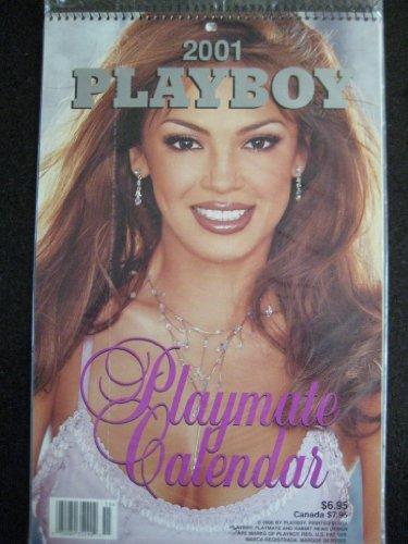 2001 Playboy Playmate Wall Calendar