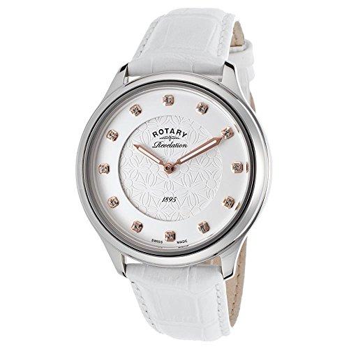 Rotary Revelation–Reloj de Pulsera analógico para Mujer Cuarzo Piel LS02965/06/41