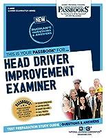 Head Driver Improvement Examiner (Career Examination)