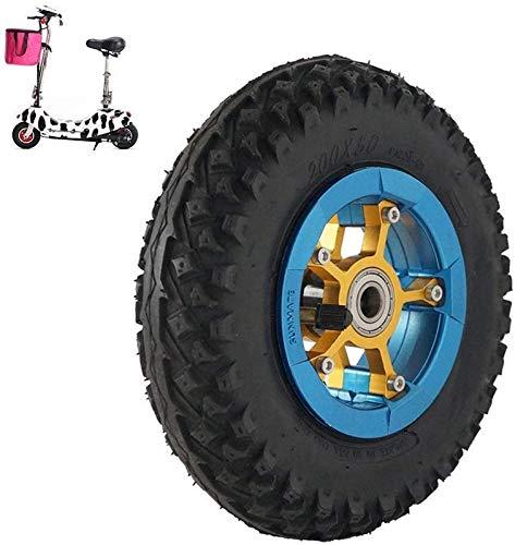 aipipl 8-Zoll-Pneumatikräder 200X50, rutschfeste, verschleißfeste Reifen, Lagerinnendurchmesser Optional,...