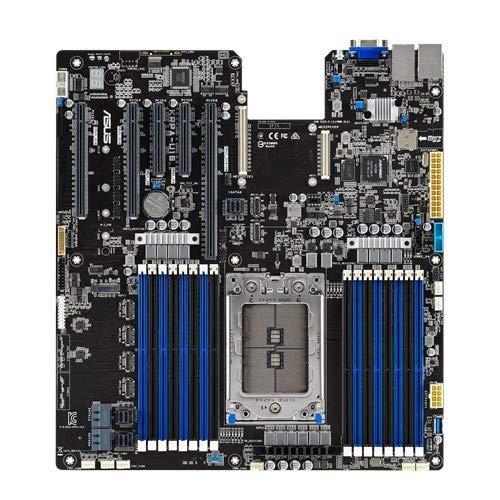 Asus Server KRPA-U16 Placa Base Profesional AMD Epyc 7002 LGA4094, DDR4 3200 MHz,pcie 4.0,M2,NVME,SAS,SATA,OCP 2.0 Media Tarjeta, Dual LAN y Software ASUS Center para gestión remota