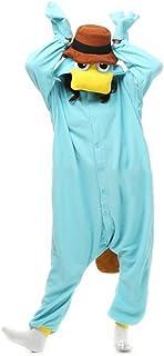 Best Adult Platypus Onesies Pajamas Cosplay Animal Homewear Sleepwear Jumpsuit Costume for Women Men Review