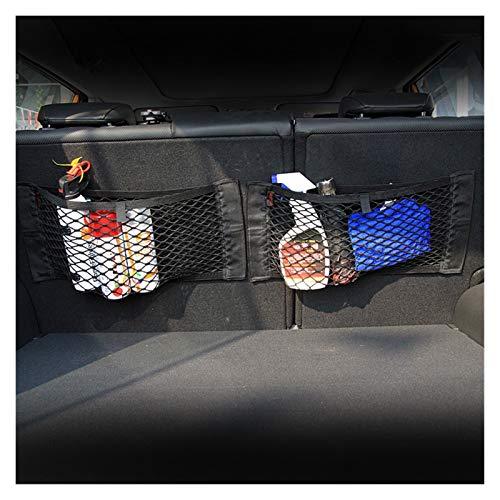 Organizador Maletero Coche Bolsa de almacenamiento de la caja del tronco del coche Pegatina de la bolsa de red para accesorios BMW E46 E39 E90 E60 E36 F30 F10 E34 X5 E53 E30 F20 E92 E87 M3 M4 M5 X5
